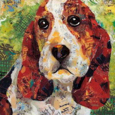 Art Dog Bassett Canvas Art