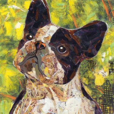 Art Dog French Bulldog Canvas Art