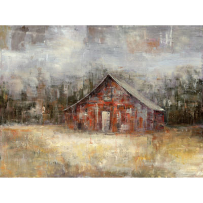 Barnscape Canvas Art