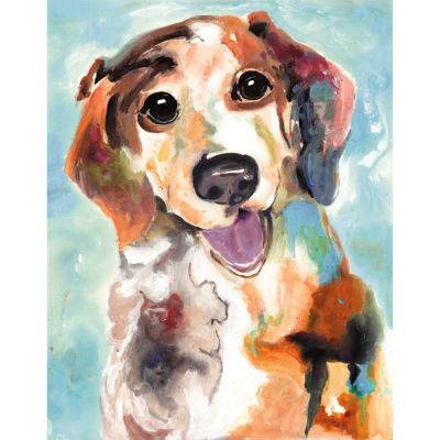 Best Friends 3 Bright Canvas Art