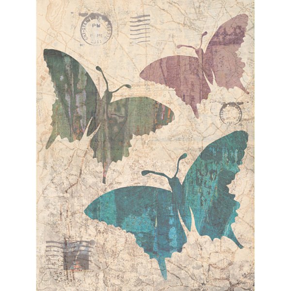 Butterflies Redux Canvas Art