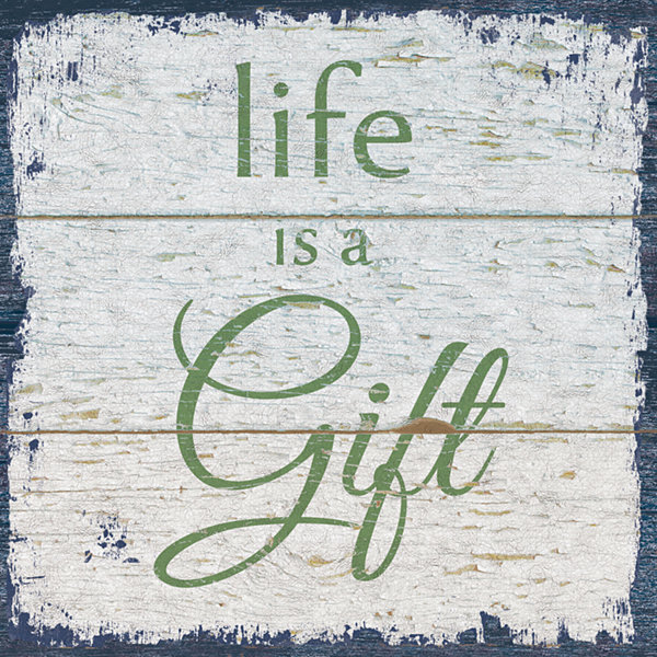 Life Is A Gift 1 Canvas Art
