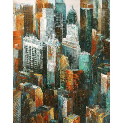 Metropolitan I Canvas Art