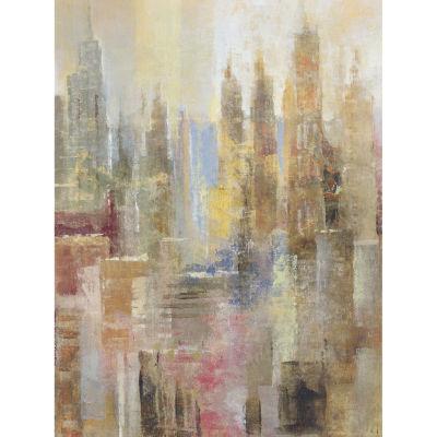 Skyrises Canvas Art