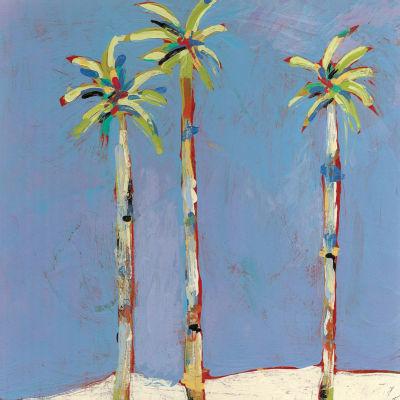 Three Palms Canvas Art