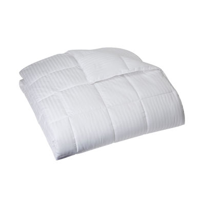 Goodnight Sleep Damask Stripe Down Alternative Comforter