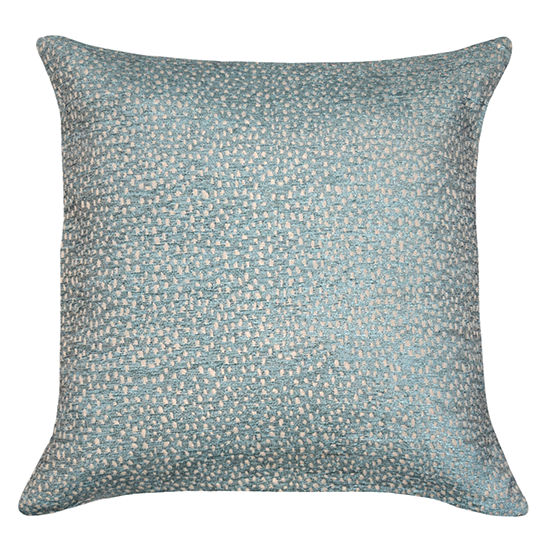 Riley Color Changing Sparkle Square Throw Pillow