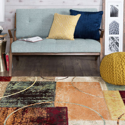 Tayse Deco Conner Rectangular Rugs