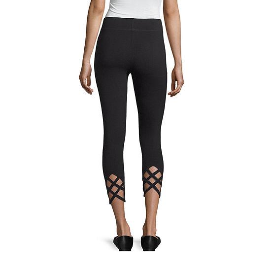 Mixit Criss Cross Capri Womens Legging - Tall
