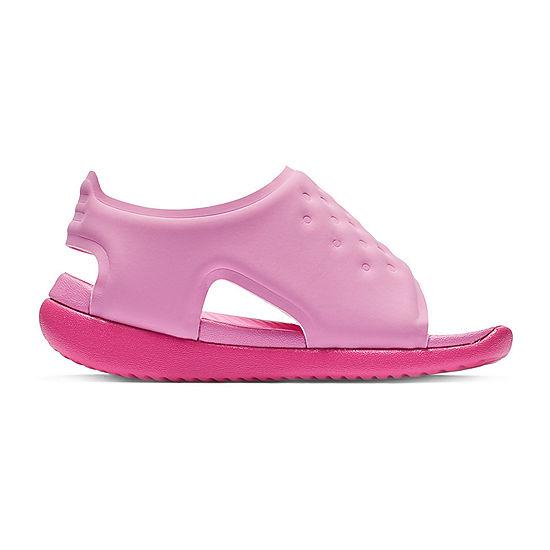 b62dbdf3f04d Nike Toddler Girls Sunray Adjust 5 Strap Sandals - JCPenney
