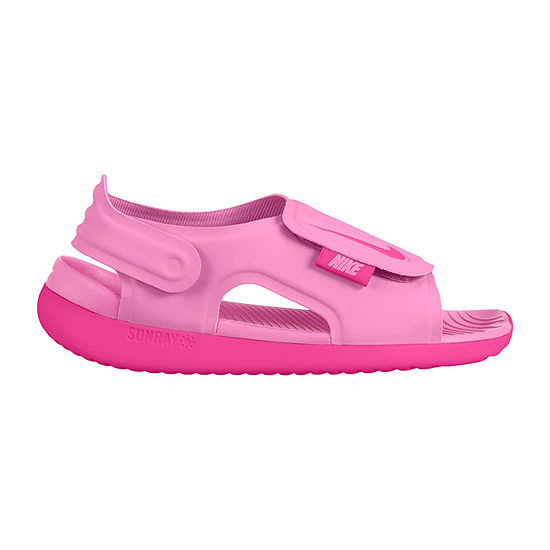 Nike Little Kid/Big Kid Girls Sunray Adjust 5 Strap Sandals