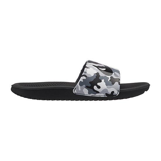 4818dae3a9ae Nike Little Kid Big Kid Boys Kawa Slide Print Slide Sandals - JCPenney