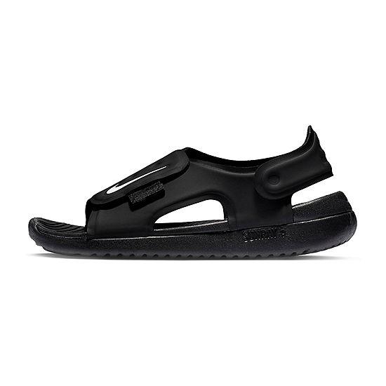 677370fffa1c Nike Little Kid Big Kid Boys Sunray Adjust 5 Strap Sandals - JCPenney