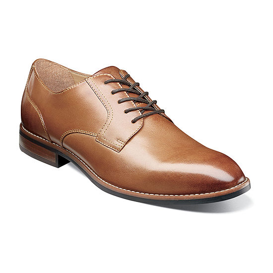 Nunn Bush Mens Fifth Ave Flex Lace-up Oxford Shoes