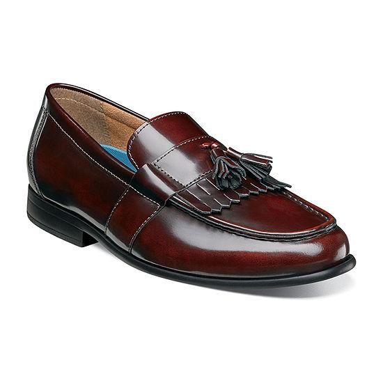 Nunn Bush Mens Denzel Moc Toe Slip-On Shoe