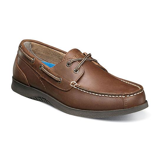 Nunn Bush Mens Bayside Slip-on Boat Shoes