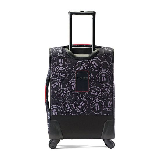 American Tourister Disney Mickey Mouse Face 21 Inch Lightweight Luggage
