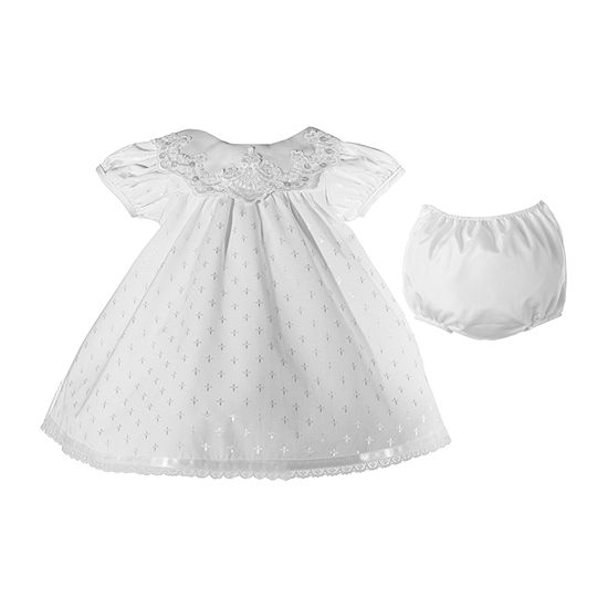 Keepsake 2-pc. Girls Short Sleeve A-Line Dress - Baby