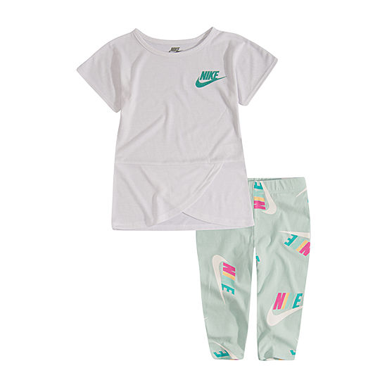 Nike Girls 2-pc. Legging Set-Toddler