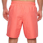 St. John's Bay Solid Nylon Swim Trunks