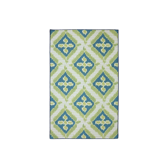 Mohawk Home Splash Indoor/Outdoor Printed Rectangular Rugs