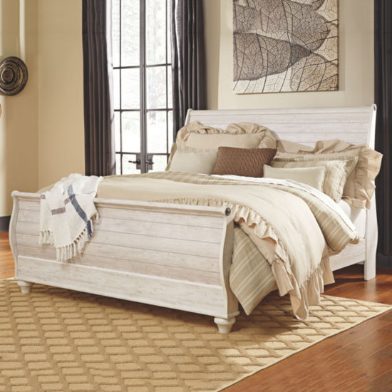 Signature Design by Ashley® Smithfield Sleigh Bed