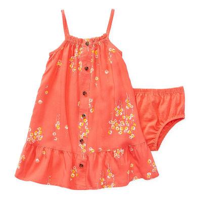 Peyton & Parker - Baby Girls Sleeveless Babydoll Dress