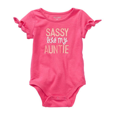 Okie Dokie Baby Girls Bodysuit