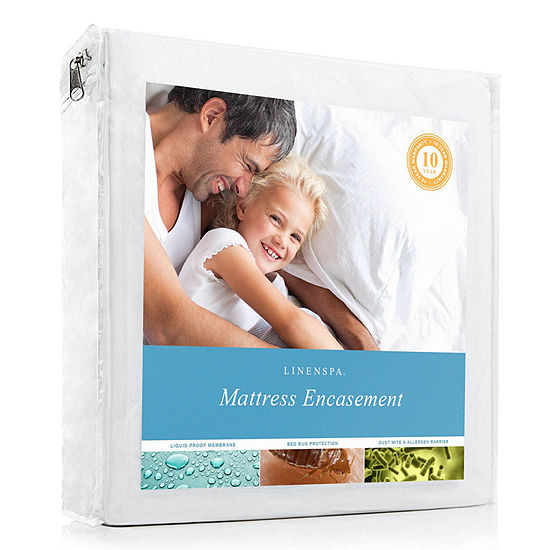 Linenspa Zippered Encasement Mattress Protector