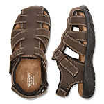 Arizona Big Kids Boys Felix Jr Adjustable Strap Flat Sandals