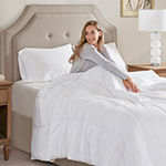 Sleep Philosophy 300 Thread Count Cover Tencel® Lyocell Filled Down Alternative Comforter with Antimicrobial Bi-Ome Odor Eliminator