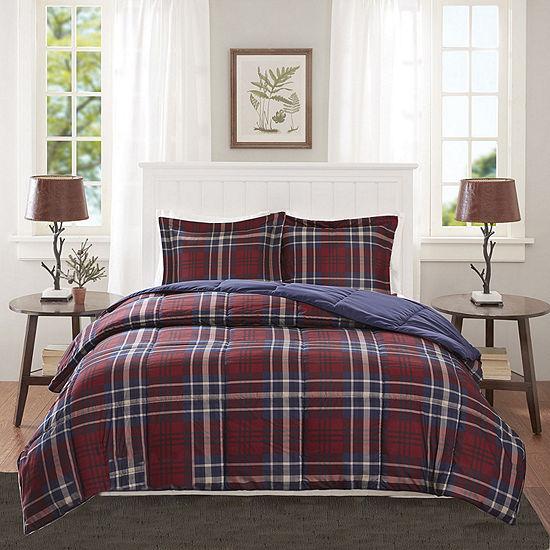 Madison Park Essentials Bernard Down Alternative Comforter Set