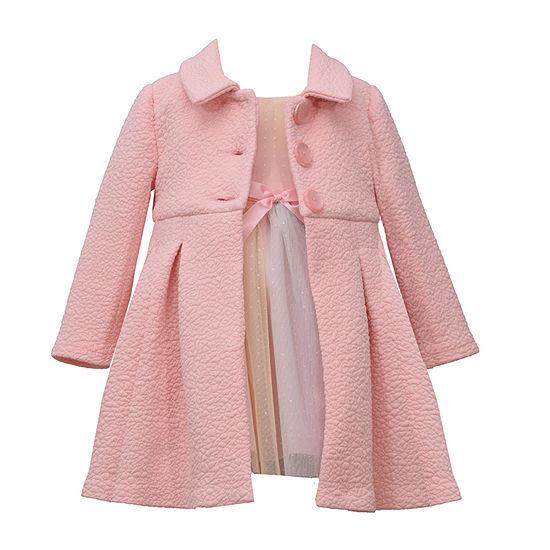 Bonnie Jean - Baby Girls Sleeveless Dress Set