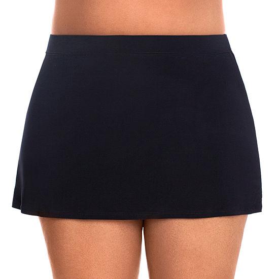 St. John's Bay Swim Skirt Swimsuit Bottom Plus