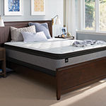 Sealy® Intermission Plush Pillow Top - Mattress + Box Spring