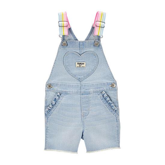 Oshkosh - Toddler Girls Shortalls