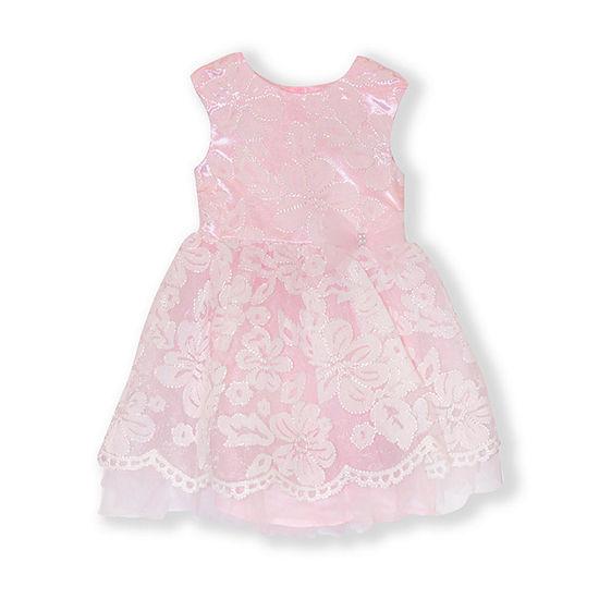 Nannette Baby Toddler Girls Sleeveless Party Dress