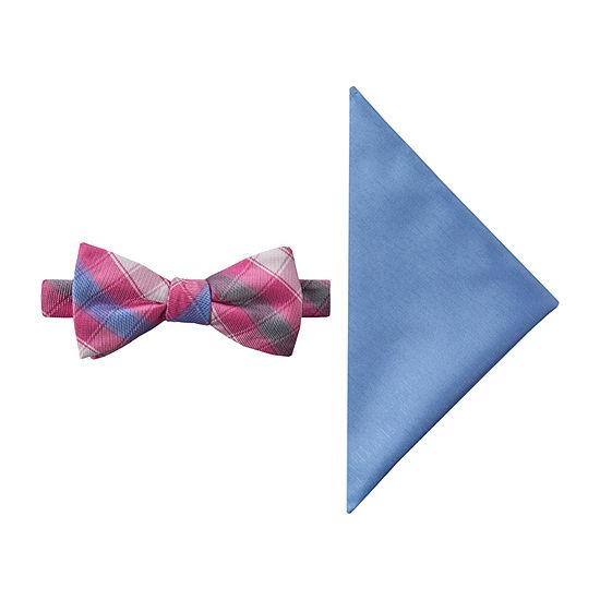 JF J.Ferrar Prom Checked Tie