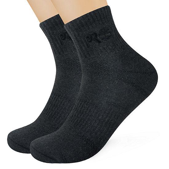 Timberland Mens 2 Pair Quarter Socks