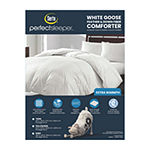 Serta 233 Thread Count Extra Warmth White Goose Feather And Down Fiber Comforter
