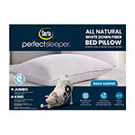 Serta White Down Fiber Back Sleeper Pillow