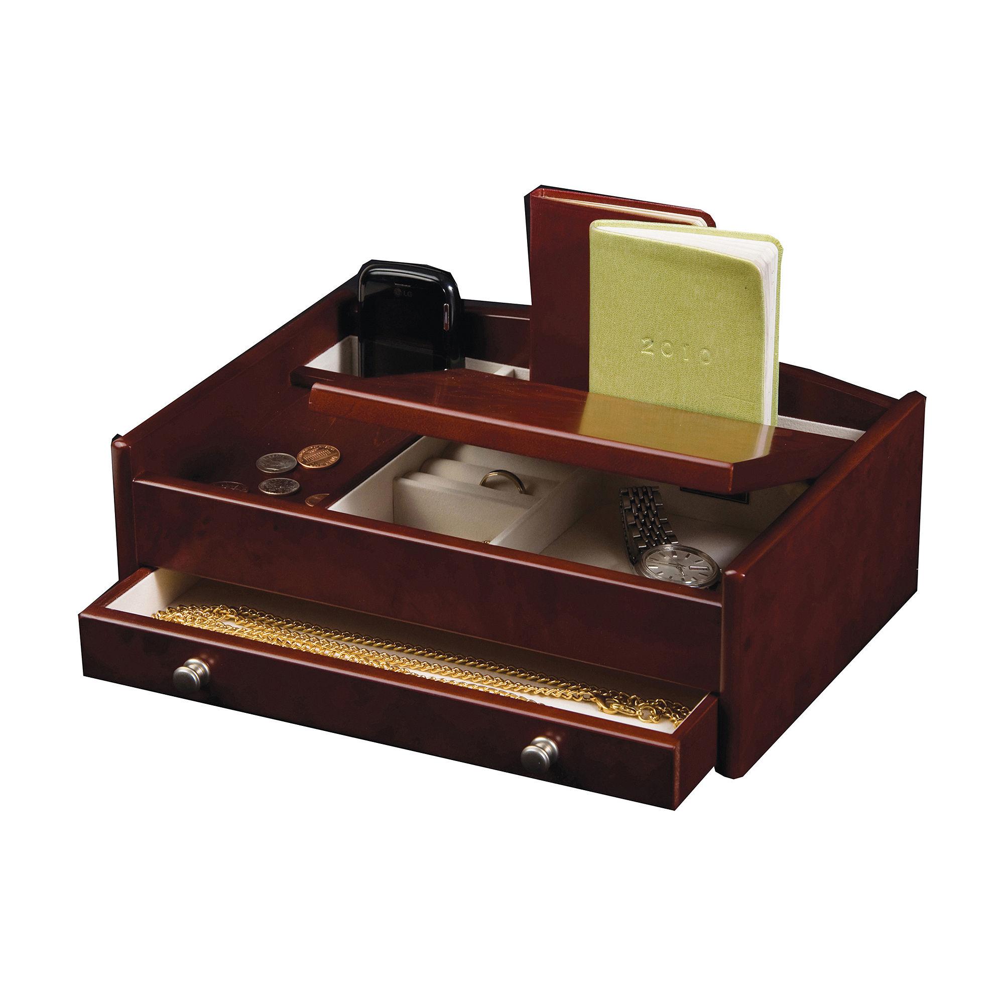 Upc 739175523358 mele co davin men 39 s dresser top for Macy s standing jewelry box