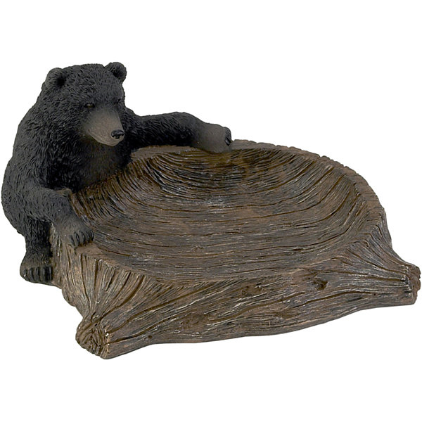 Avanti Black Bear Lodge Soap Dish
