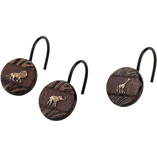 Avanti Animal Parade Shower Curtain Hooks