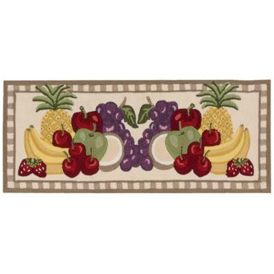 Nourison® Fruit Utility Runner Rug