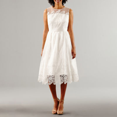Melrose Sleeveless Fit & Flare Wedding Dress