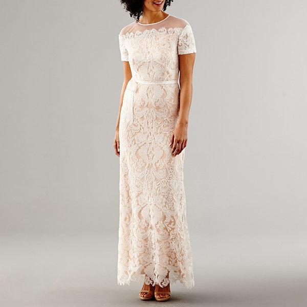 Melrose short sleeve wedding gown jcpenney melrose short sleeve wedding gown junglespirit Images