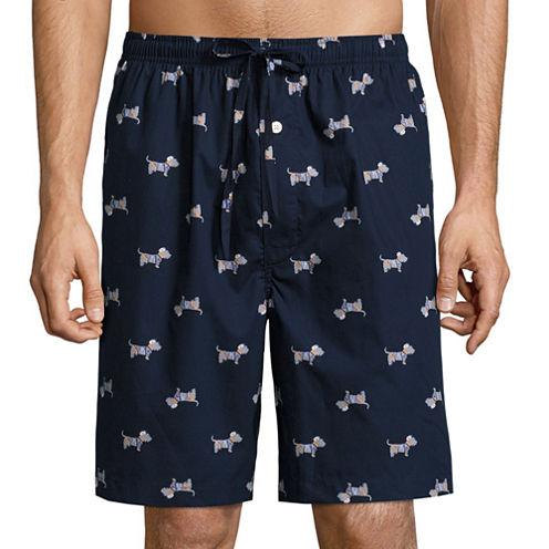 Stafford® Woven Pajama Shorts - Big & Tall