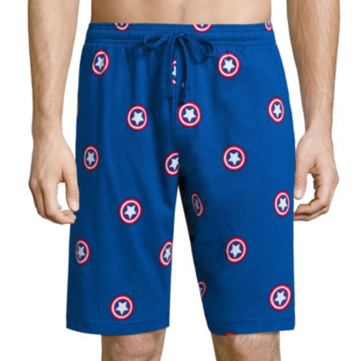 Captain America Knit Pajama Shorts