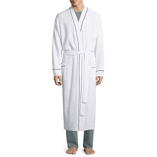 Stafford Waffle Robe -Big - One Size Fits Most